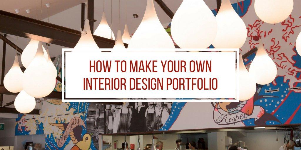 How to Make Your Own Interior Design Portfolio